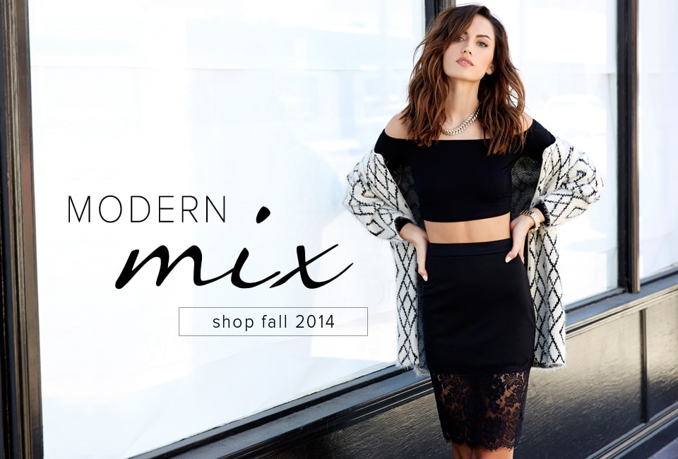 Modern Mix - Shop Fall 2014