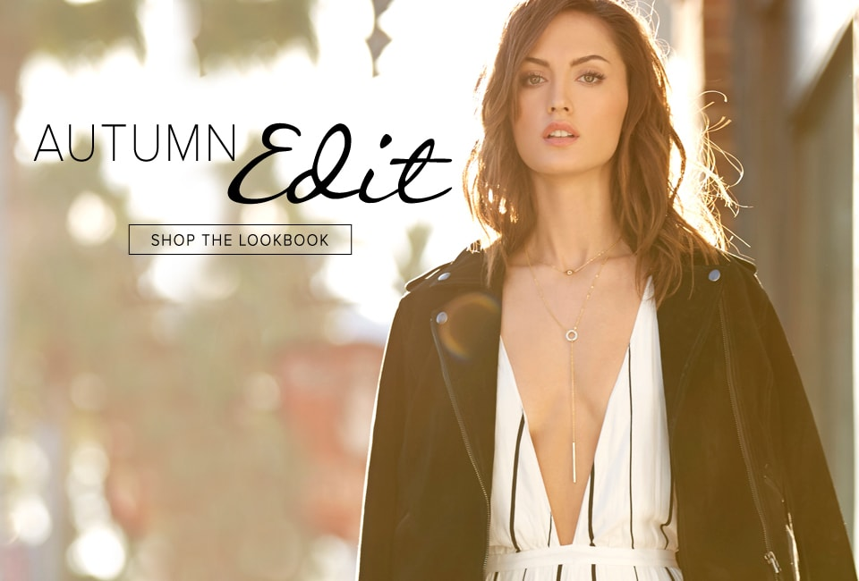 Autumn Edit - Shop The Lookbook