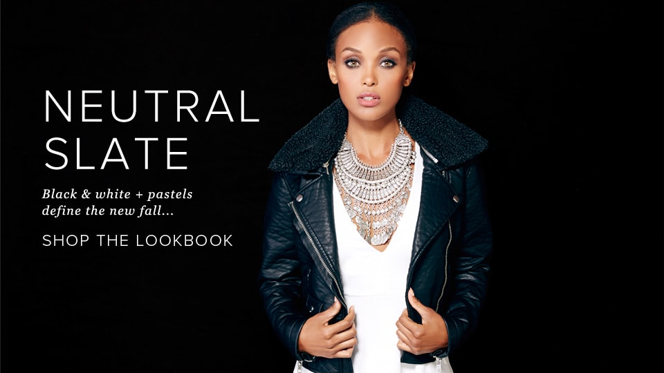 Neutral Slate - Shop The Lookbook