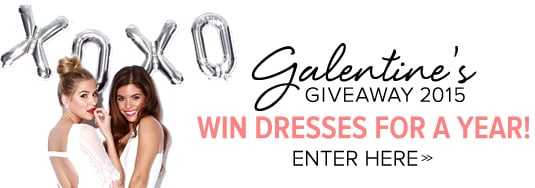 WIN Dresses for a Year! Enter Now!