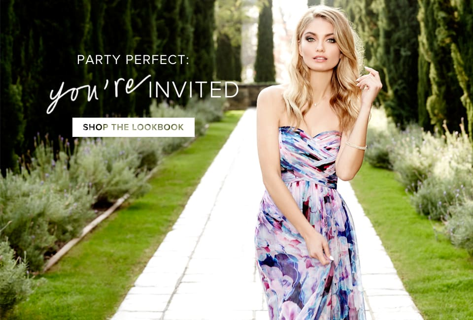 Party Perfect: You're Invited - Shop The Lookbook