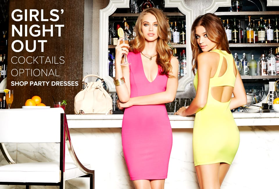 Girls Night Out - Shop Party Dresses