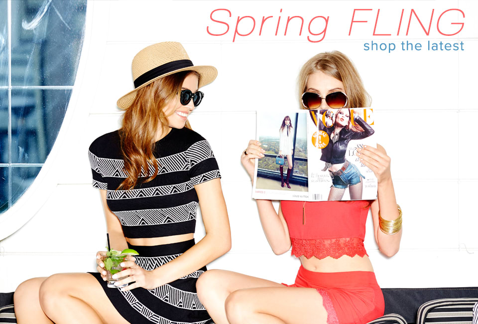 Spring Fling - Shop The Latest
