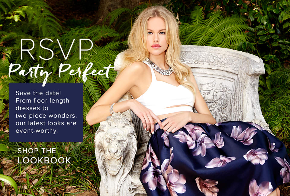 RSVP: Party Perfect - Shop the Lookbook
