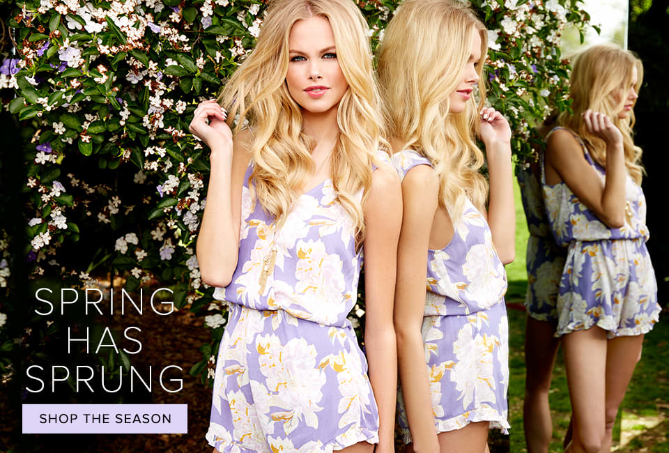Spring Has Sprung - Shop The Season