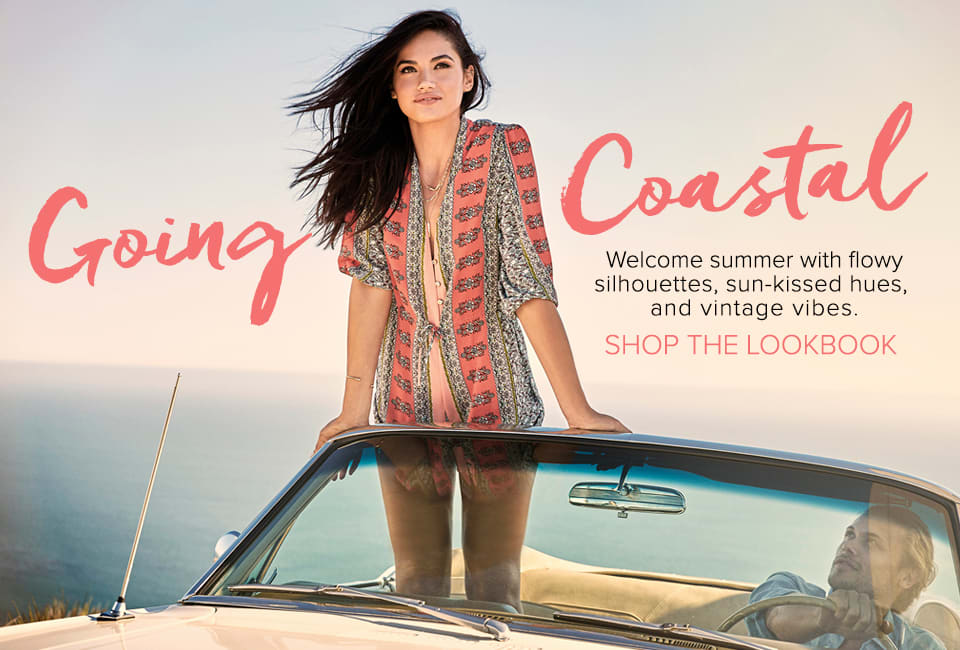 Going Coastal - Shop The Lookbook