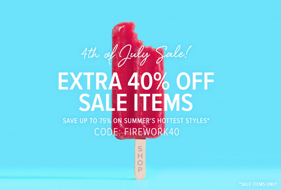 40% off Sale Items!