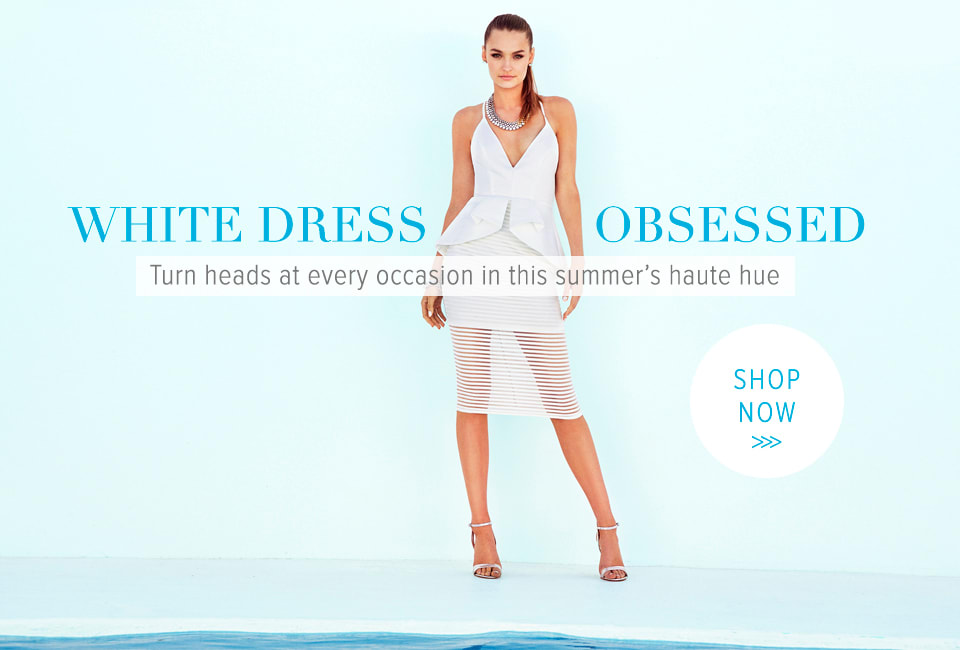 White Dress OBSESSED - Shop White Haute