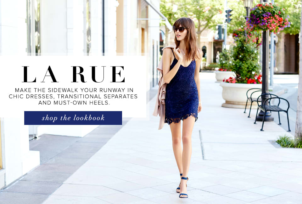 La Rue - Shop The Lookbook