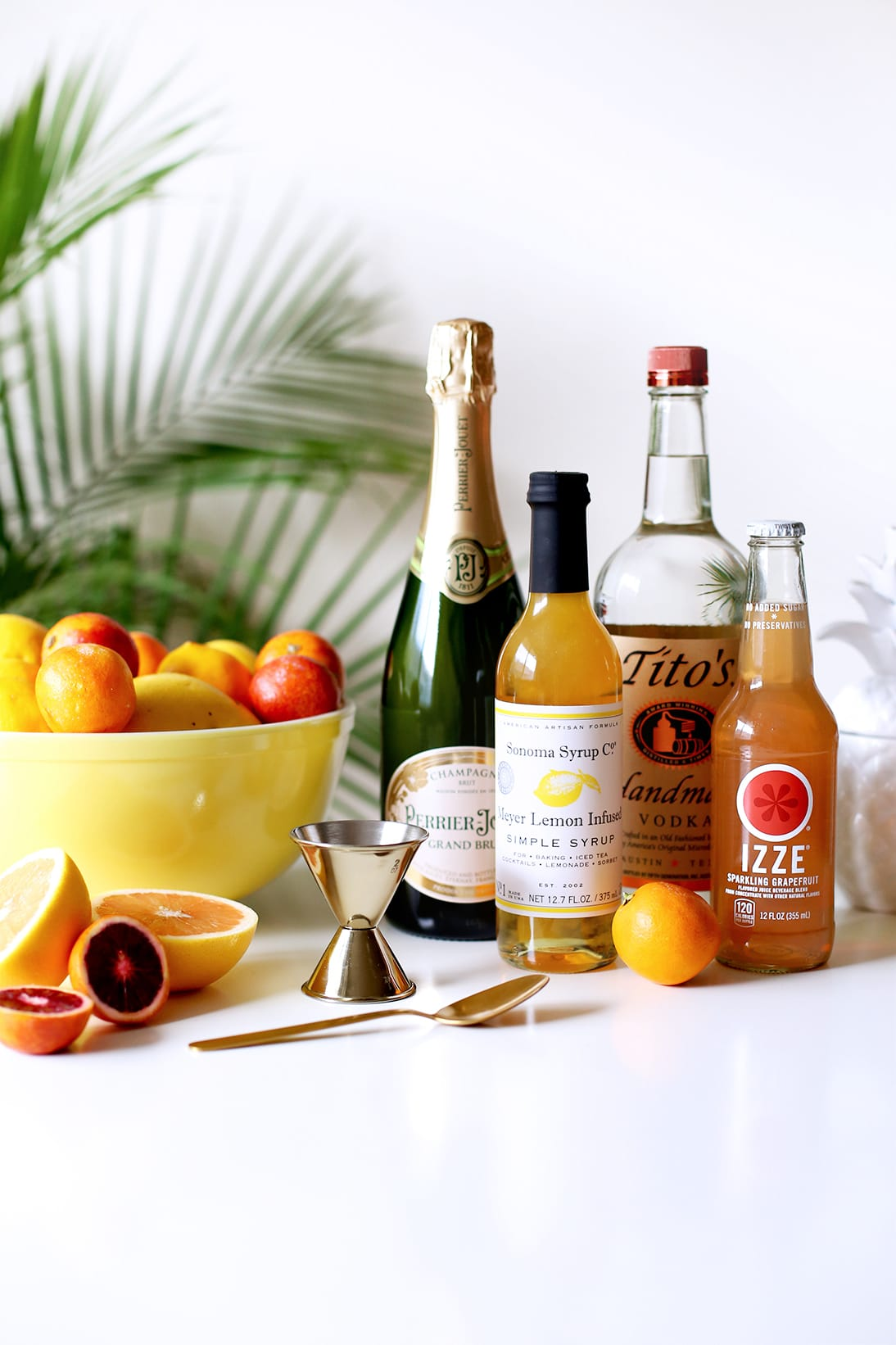 Happy Hour: Spring Citrus Spritzer - What You'll Need