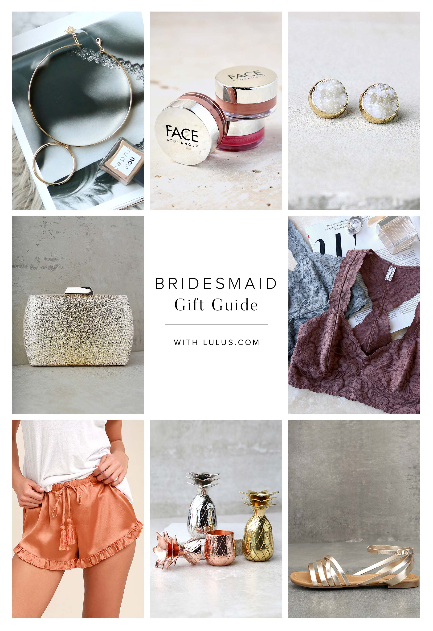 2017 Bridesmaid Gift