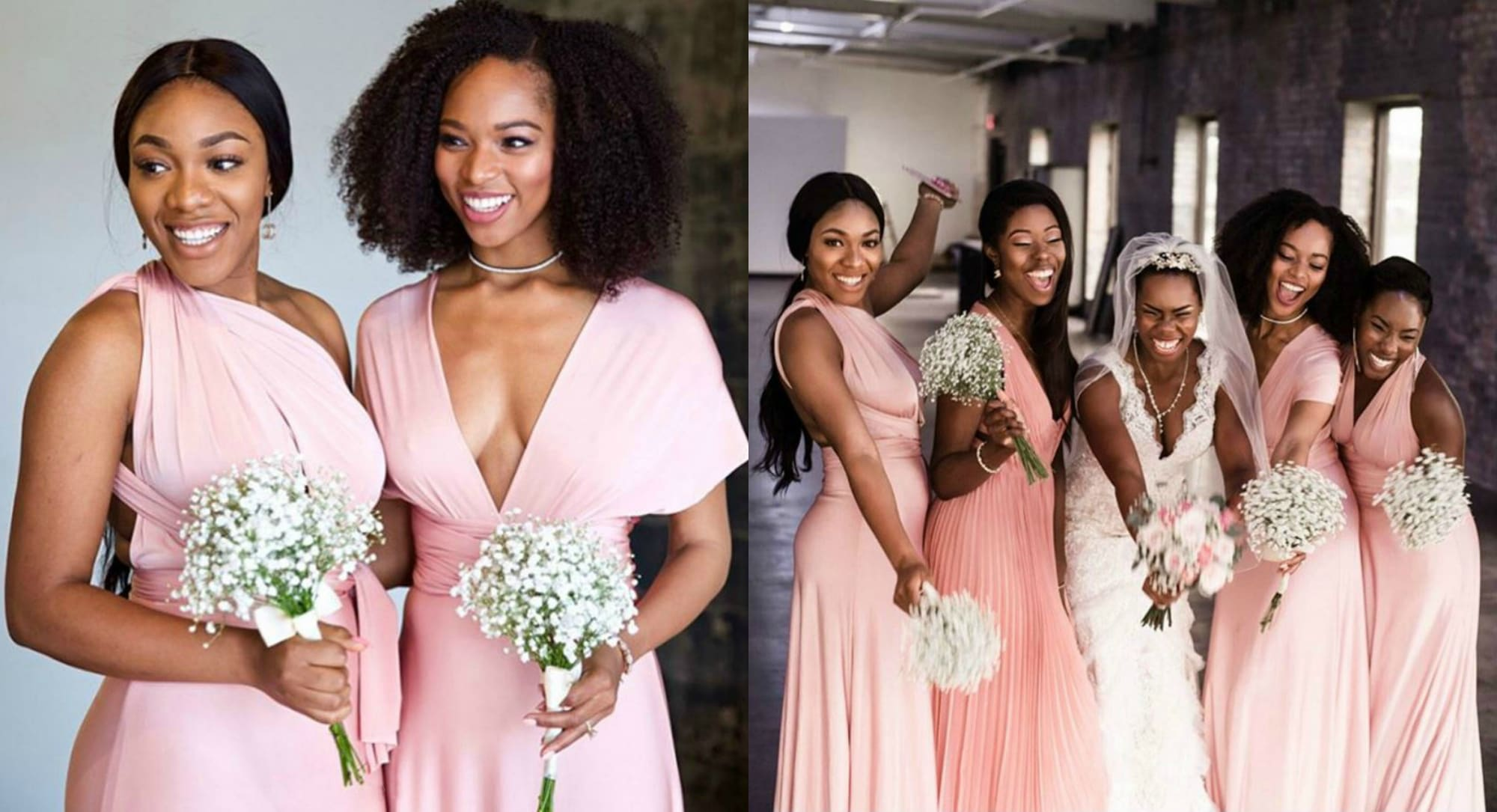 Bridesmaid Dress Roundup - always stunning pink 2