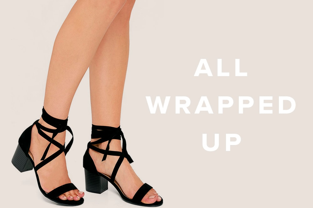 Spring Shoe Trend - Lace Up Shoes