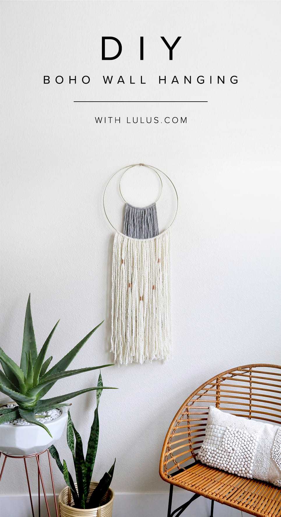 Boho Wall Hanging diy boho wall hanging - lulus fashion blog