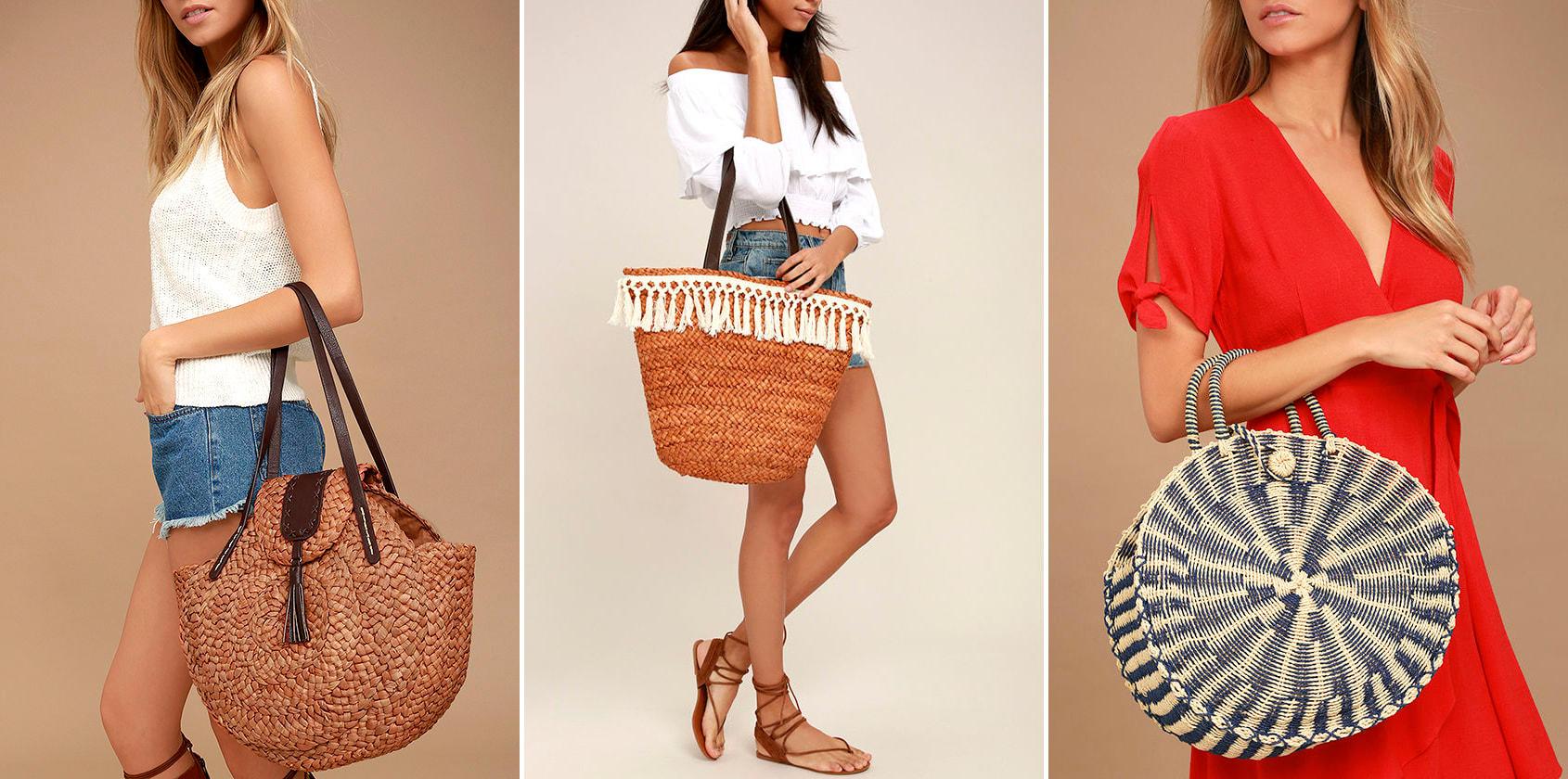 summer bag - woven