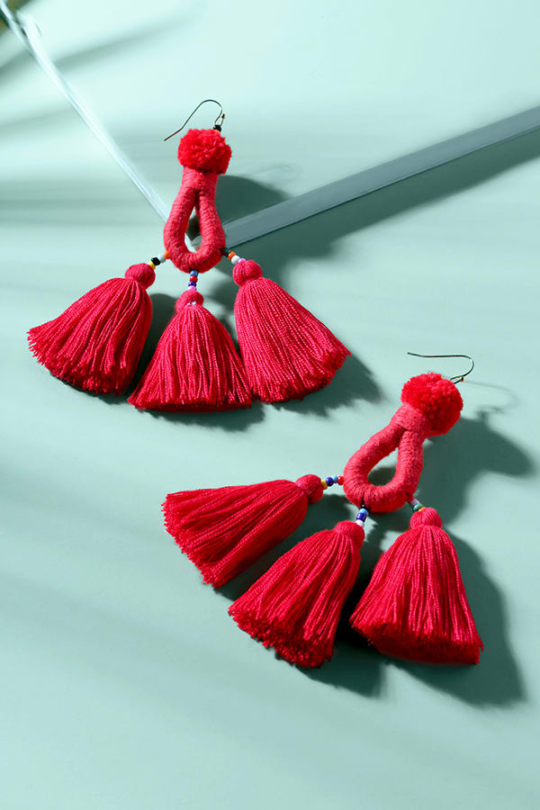 summer accessories - statement earrings