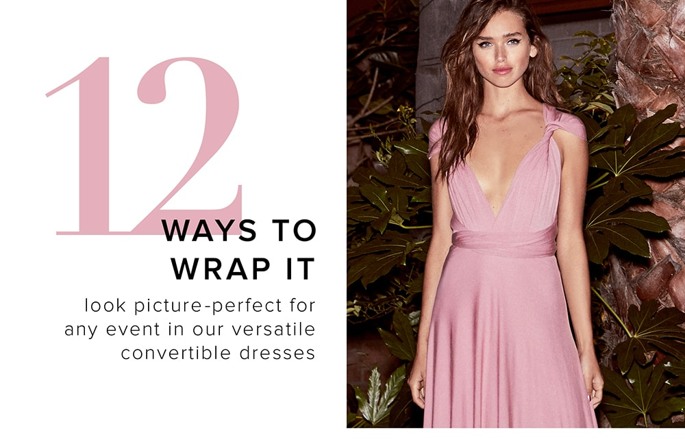 How to tie a dress to make it shorter