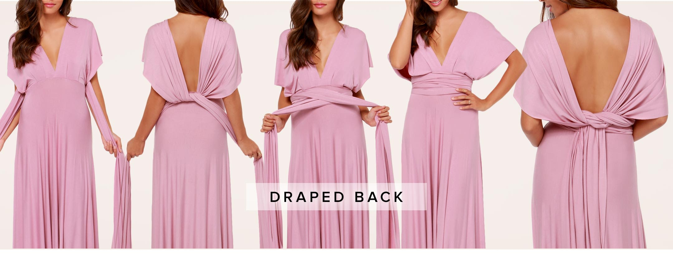 Tricks of the Trade: Wrap Dress Tutorial - Part II - Lulus.com ...