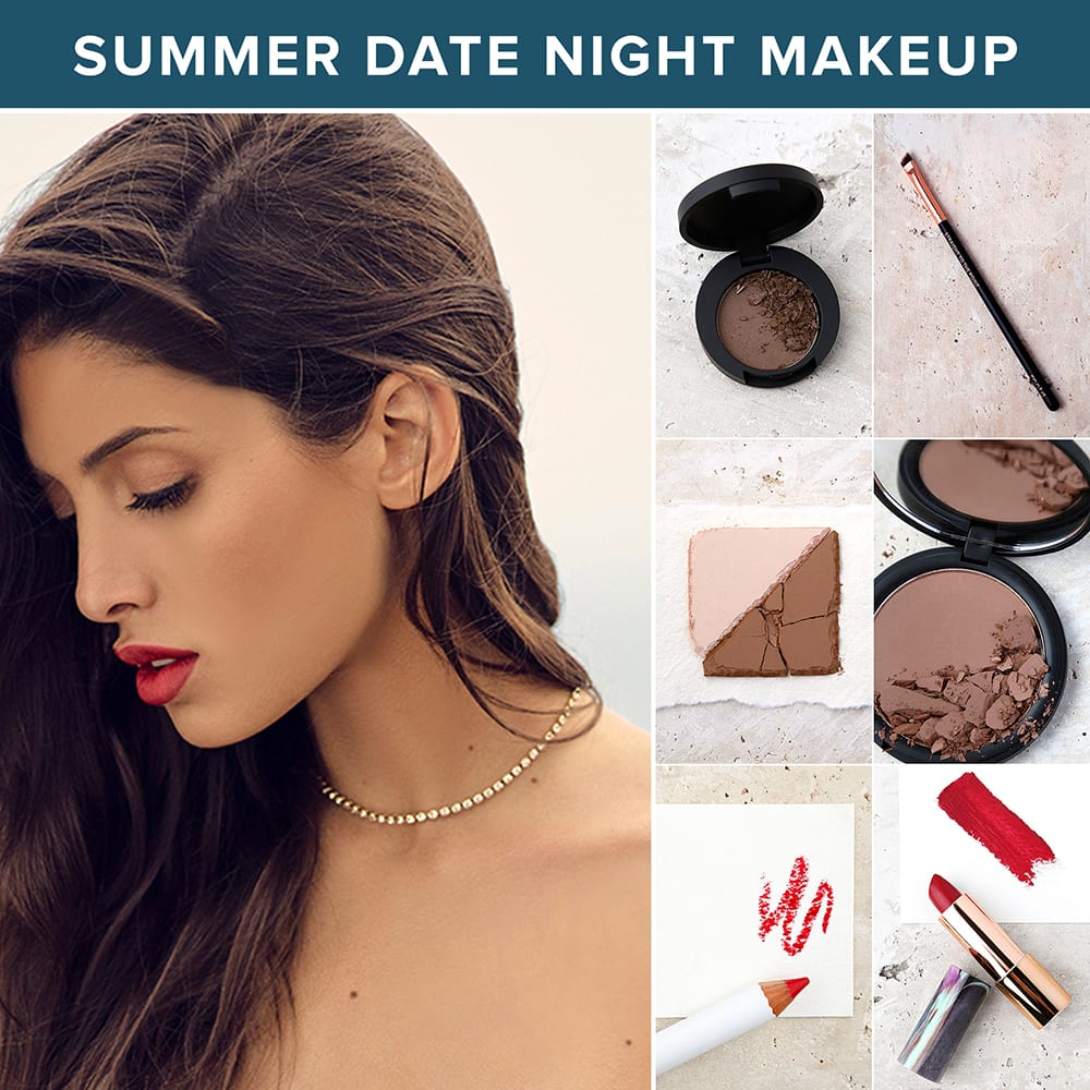 summer makeup looks - date night makeup ideas