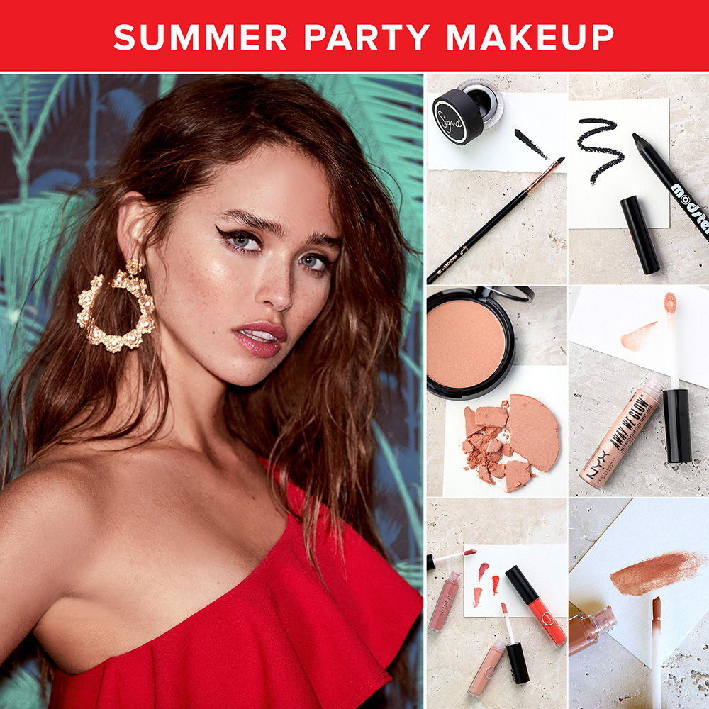 summer makeup looks - party makeup ideas