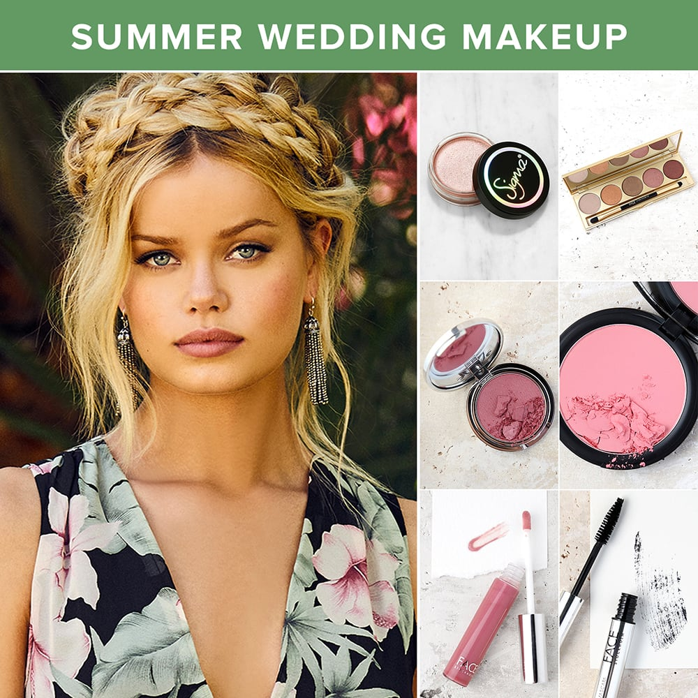 summer makeup looks - wedding guest makeup looks