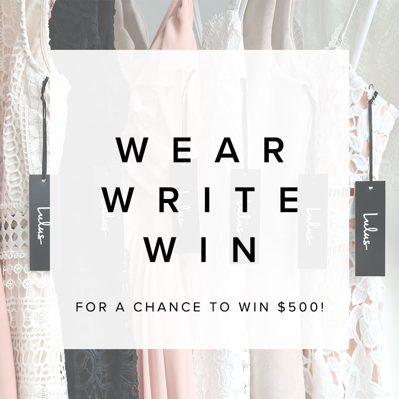 wear write win contest