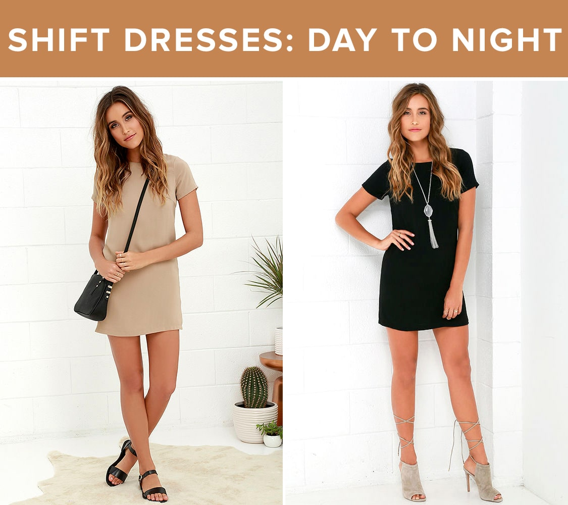 Vacation Style - Shift Dresses
