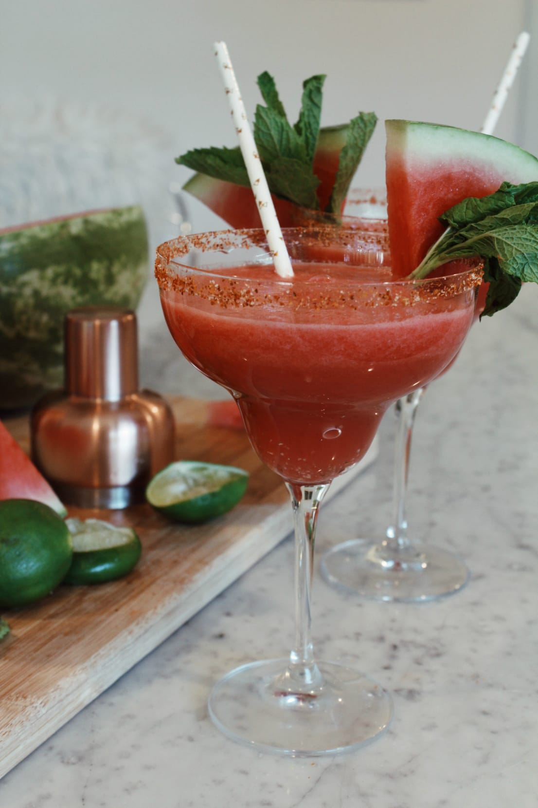 Happy Hour: Watermelon Mint Margaritas with Sivan Ayla