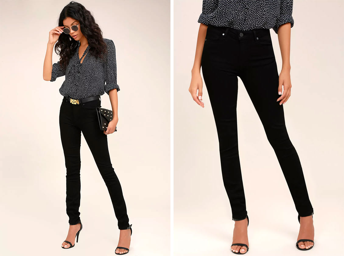 Fall Trends - Black Denim