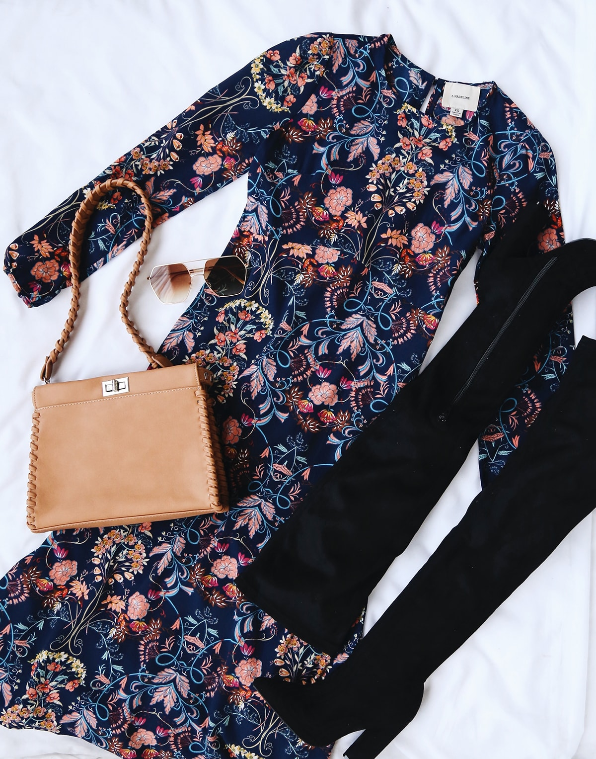 fall florals - dress