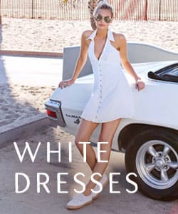 Shop White Dresses!