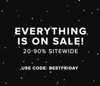 Everything is on sale! 20-90% off sitewide with code BESTFRIDAY