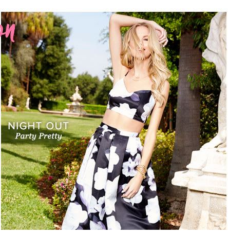 NIGHT OUT - Party Pretty