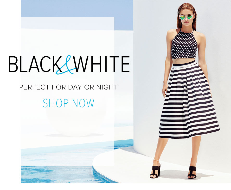 Black & White Perfect For Day Or Night