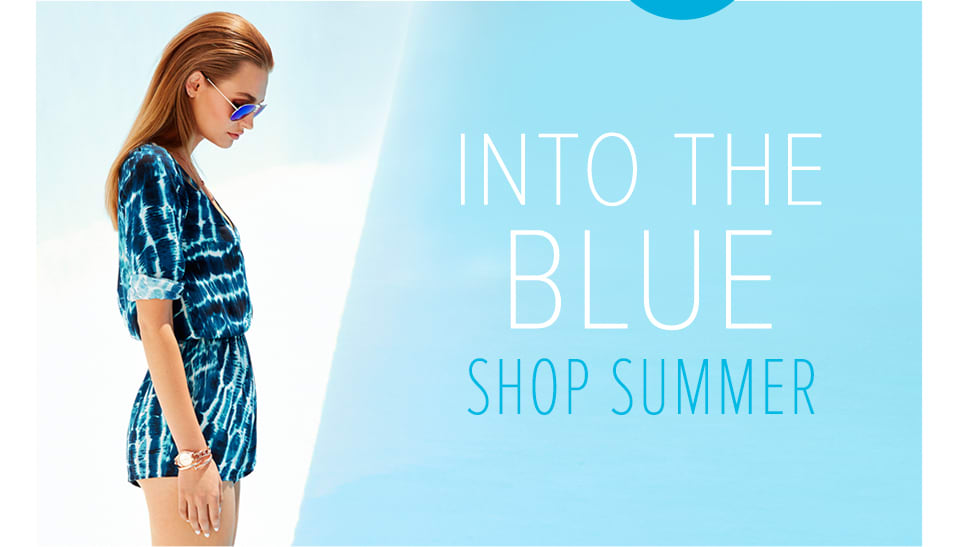 Into the Blue - Shop Summer