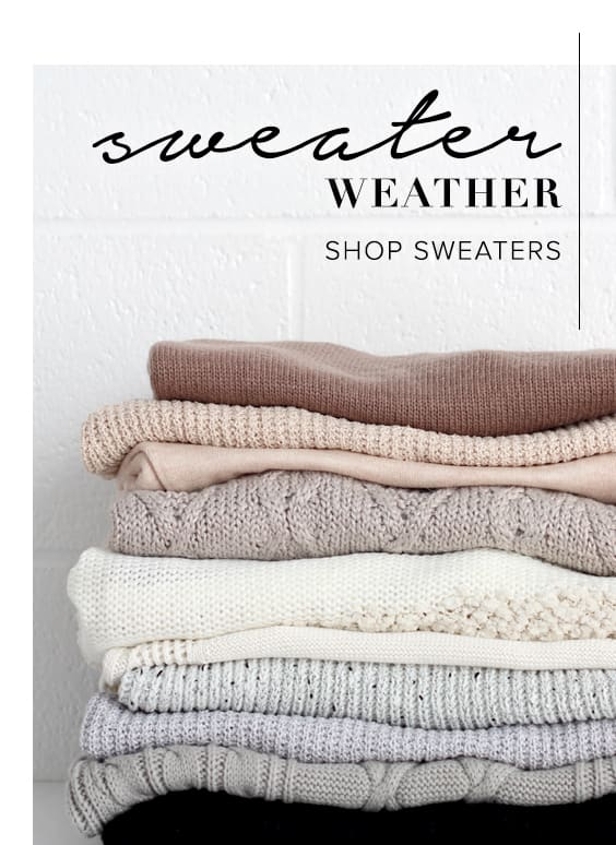 Shop Sweaters