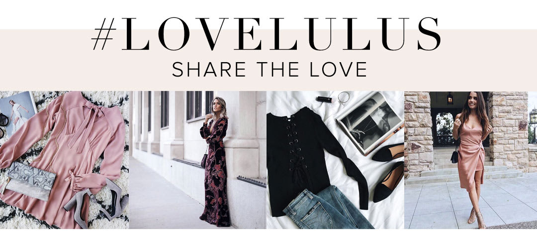 #LOVELULUS Follow Us On Instagram