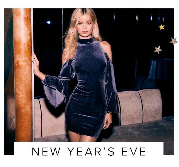 Shop Sexy New Year's Eve Dresses.