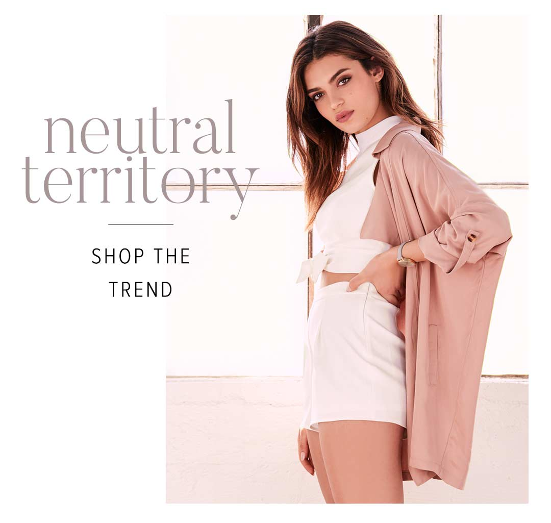 Shop Cute and Sexy Neutral Dresses and Clothing for Women.