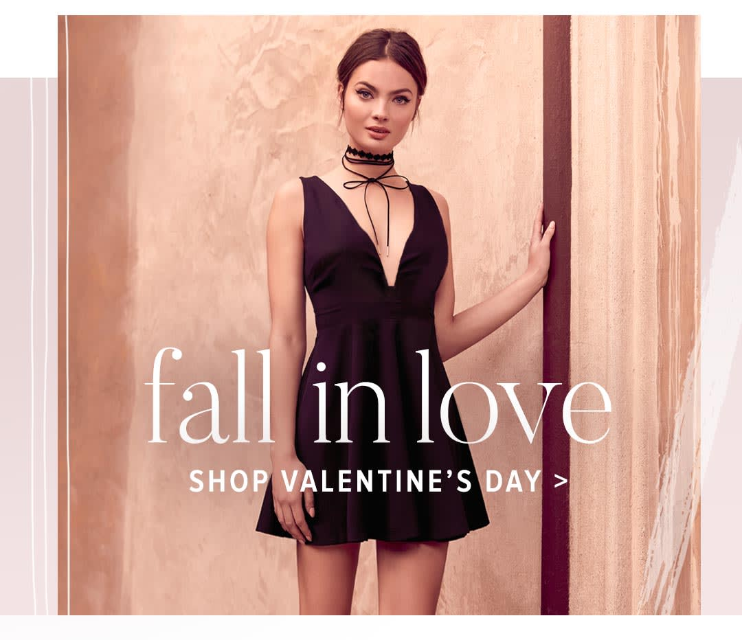 Shop Cute and Sexy Valentine's Day Dresses.