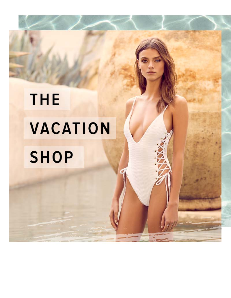 Shop Vaction Dresses and Resort Wear.