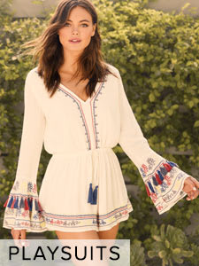 Shop Cute Rompers, Playsuits and Jumpsuits for Women.