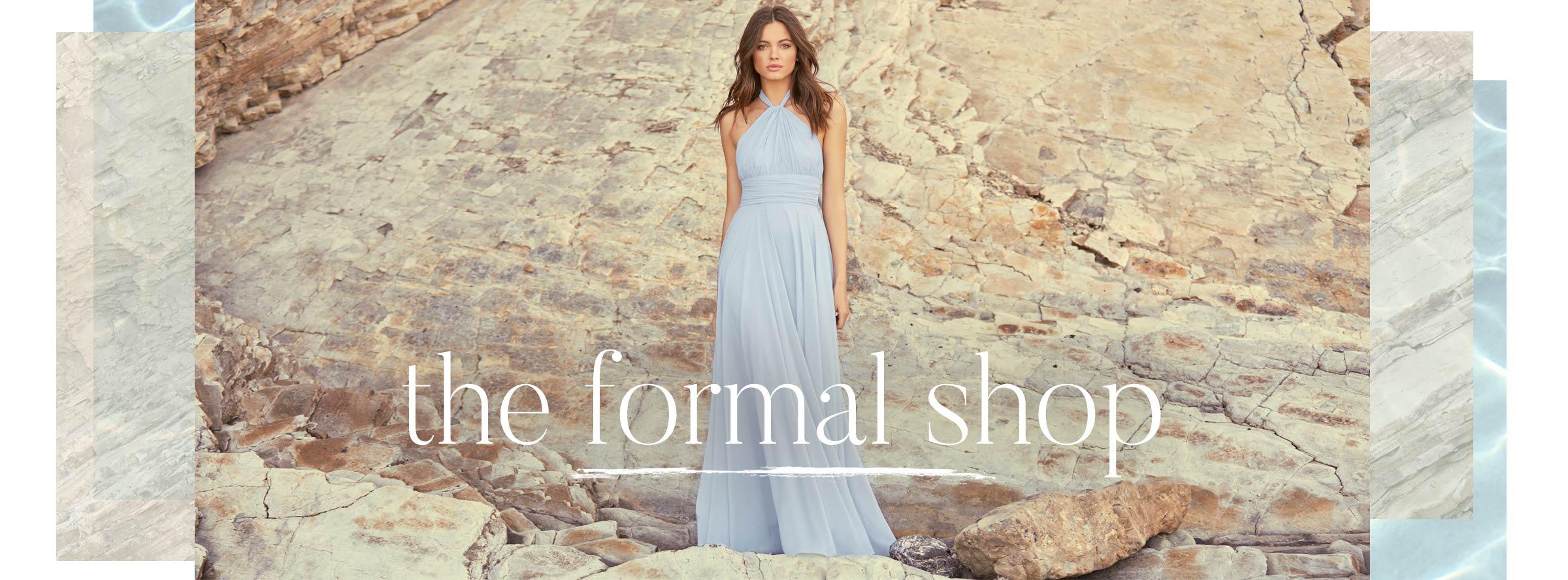 The Formal Shop- Shop Elegant Formal Dresses, Evening Dresses, and Gowns.