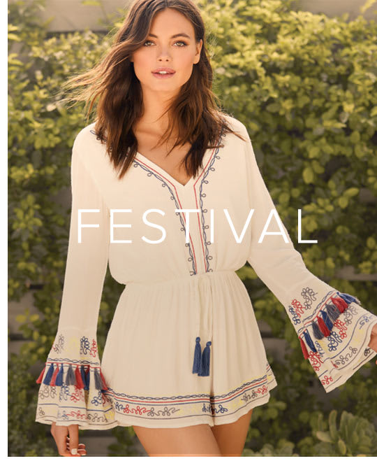 Shop Festival Dresses and Clothing for Women.