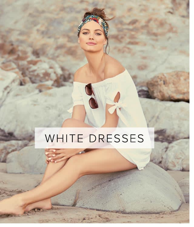 Shop White Casual Dresses, Vacation Dresses, Sundresses, and Maxi Dresses for Women.