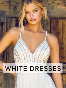 Shop Cute White Dresses.