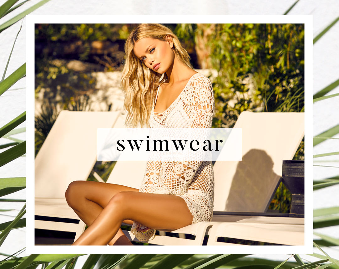Shop Cute Swimwear and Resort Clothing for Women.
