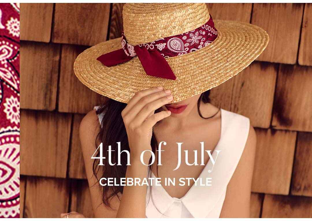 Shop 4th of July Dresses and Clothing.