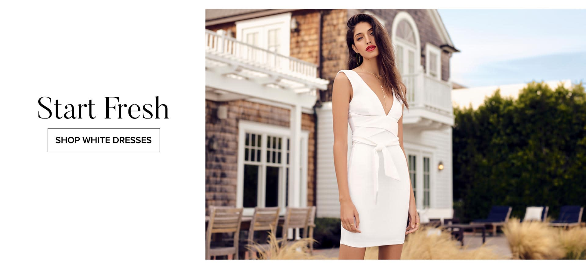 Shop White Dresses for Women.