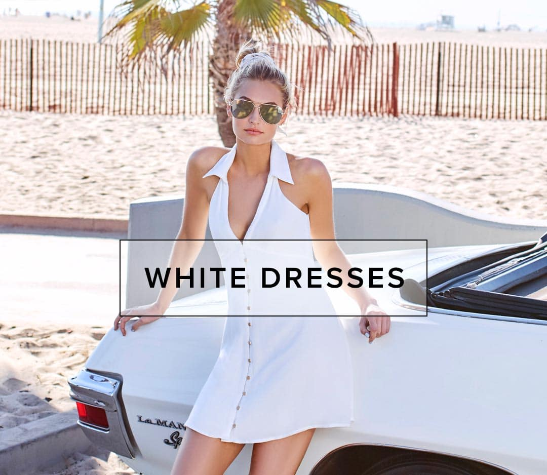 Shop White Dresses, Maxi Dresses, and Gowns.
